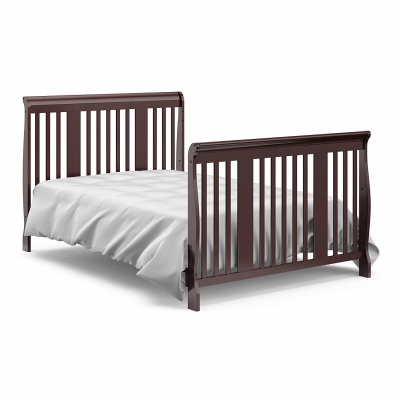 storkcraft tuscany 4-in-1 convertible crib bed