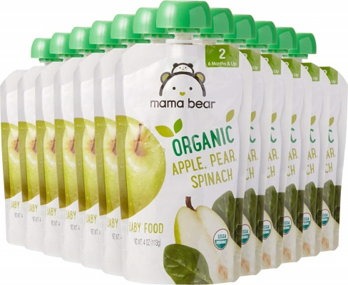 mama bear baby food pouch stage 2