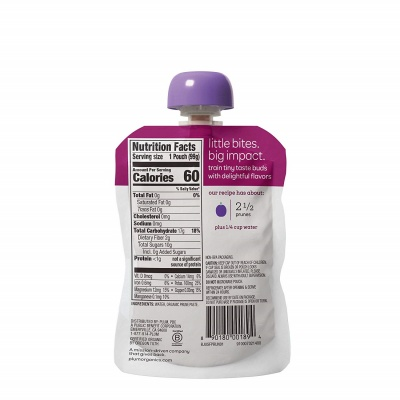 plum organics baby food pouch ingredients