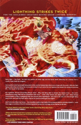the flash rebirth dc comics description