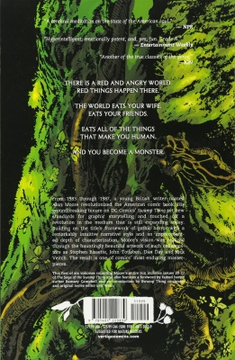 swamp thing dc comics description
