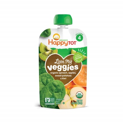 happy baby food pouch veggies