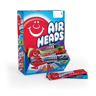 Airheads Bars Chewy Fruit individually packed