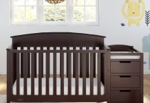 Read our detailed guide of the ten best cribs with changing table.
