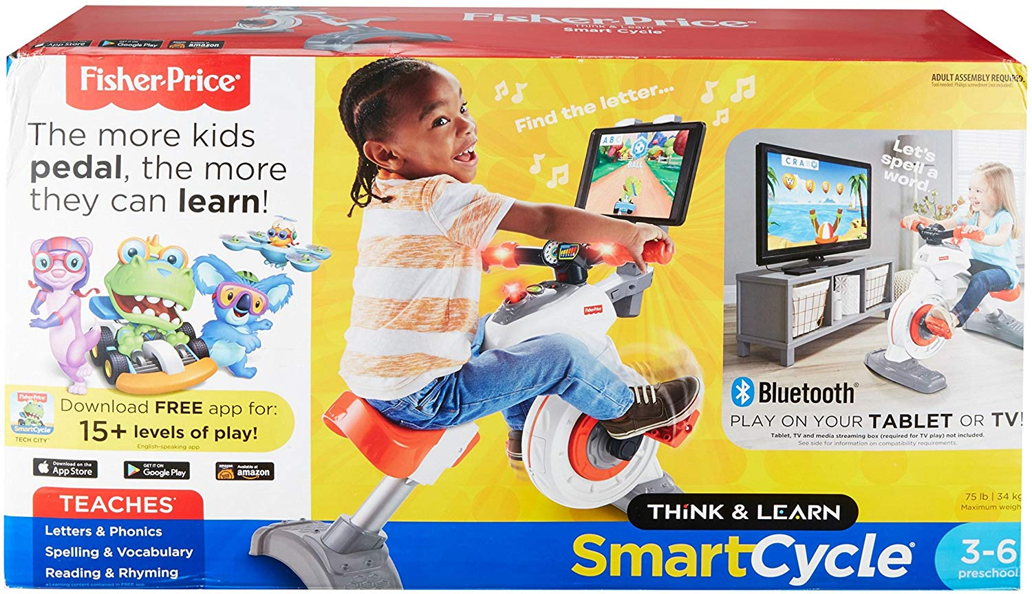 fisher-price think and learn smart cycle package