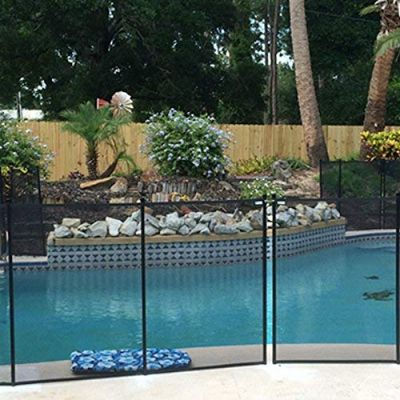Classic Guard Mesh Fence Best Pool Fences pool view