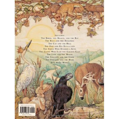 Classic Treasury of Aesop's Fables Back