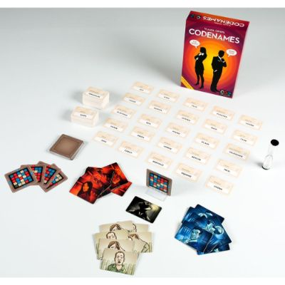 Codenames Game Pieces