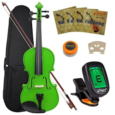 Crescent 4/4 Violin Green