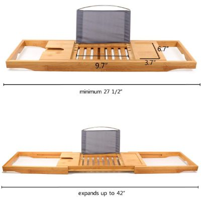 DOZYANT Bamboo Tray Measurements