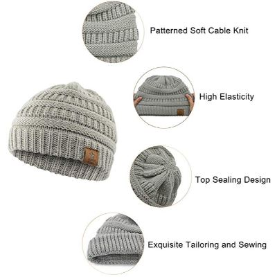 Durio Soft Knitted Cap Features