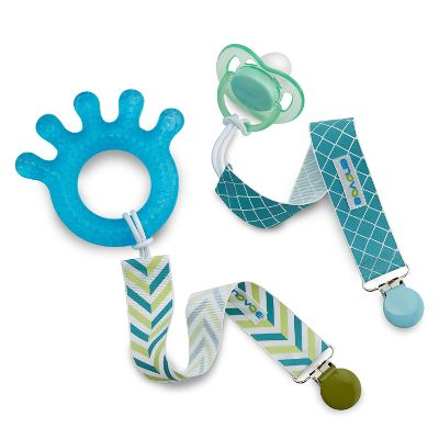 Enovoe 6-Pack Pacifier Clips Attachments