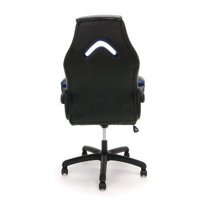 essentials racing gaming chair for kids back