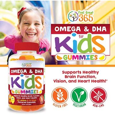 Feel Great DHA Gummies Kids