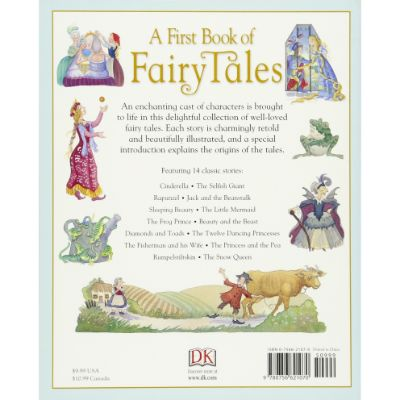 First Book of Fairy Tales Back