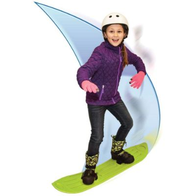 sledsterz snowboard for kids green