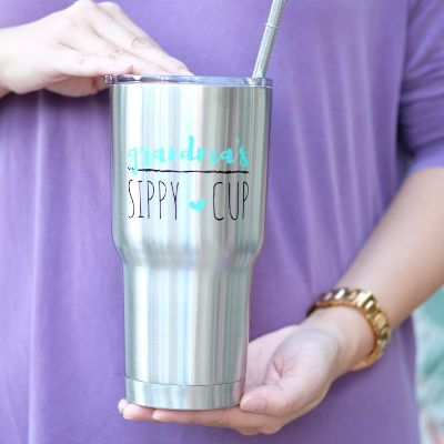 Best Christmas Gifts for Grandma Sippy Cup Straw