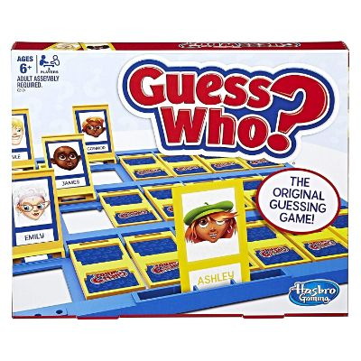 Hasbro Guess Who Game Box