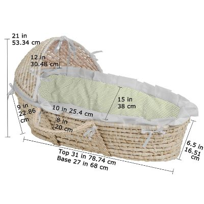 Hooded Badger Basket Liner Dimensions