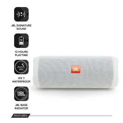 JBL Flip 4 Waterproof Speaker Features