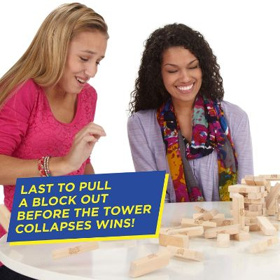 Jenga Game Players