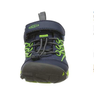 keen unisex kids hiking boots front