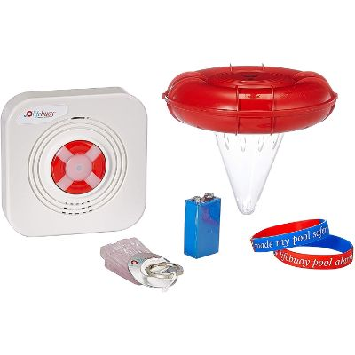 Lifebuoy Pool Smart Alarm Application Controlled Best Pool Alarms complete system view
