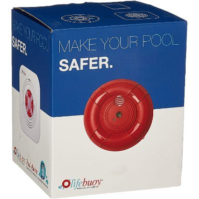 Lifebuoy Pool Smart Alarm Application Controlled Best Pool Alarms box