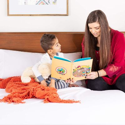linenspa zippered mattress protector for kids hypoallergenic