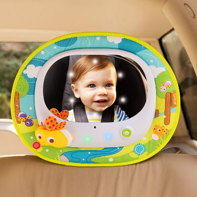 Munchkin Brica Firefly in Sight Mirror car seat toy baby