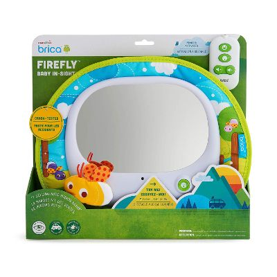 Munchkin Brica Firefly in Sight Mirror car seat toy front