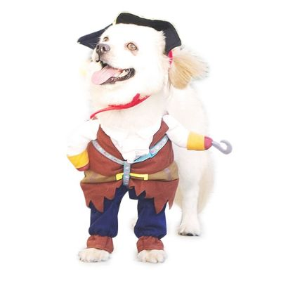 pirates of the caribbean halloween dog costume materials