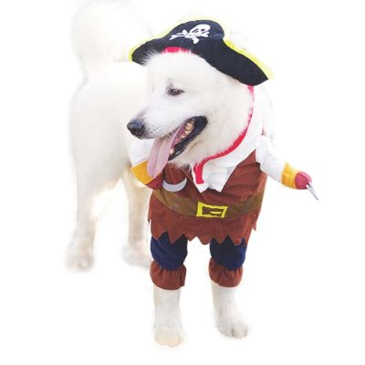 pirates of the caribbean halloween dog costume comfortable
