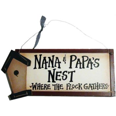 Best Christmas Gift Grandma Ohio Wholesale Sign Nest