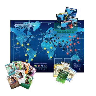 Pandemic Board Game Map