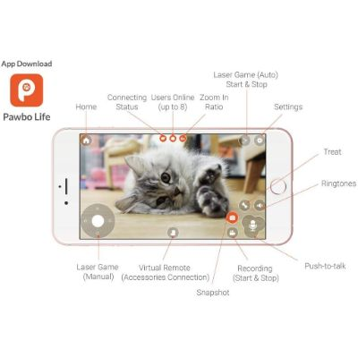Pawbo HD Camera Features