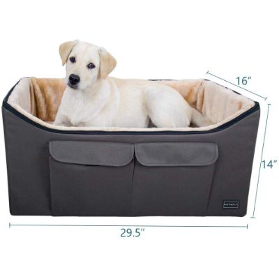 petsfit booster lookout dog car seat size