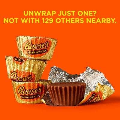 Individually wrapped Reese's Peanut Butter Cups