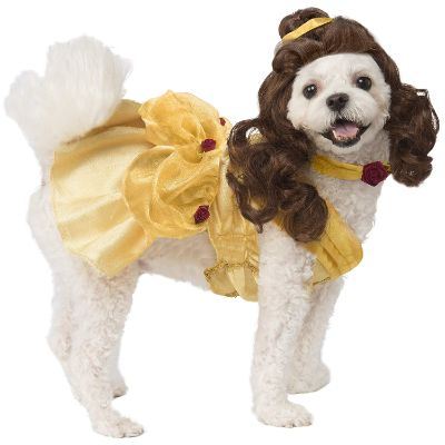disney princess halloween dog costume belle