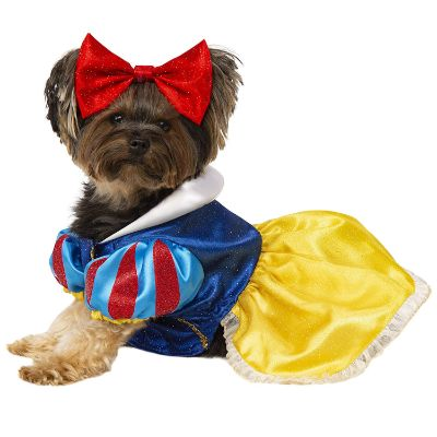disney princess halloween dog costume snow white