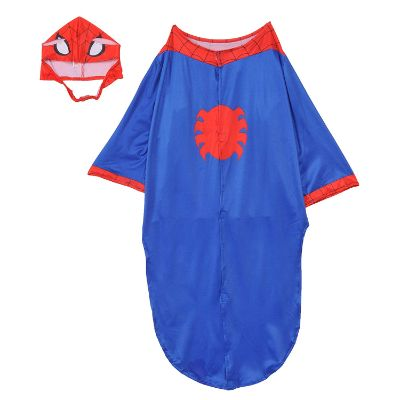 spider man halloween dog costume back
