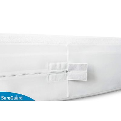 sureguard twin mattress protector for kids zipper
