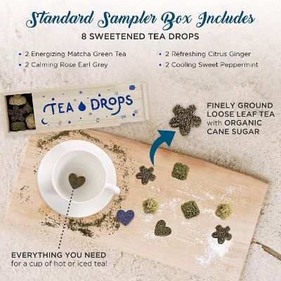 tea drops christmas gift for grandma box
