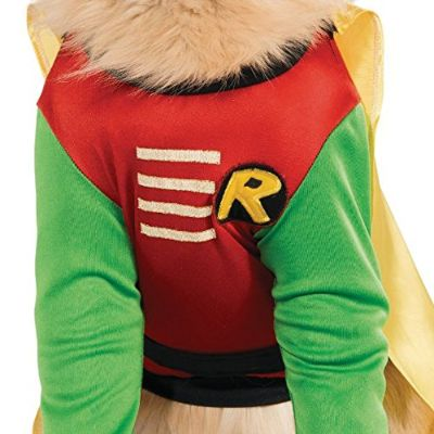 DC comics robin halloween dog costume materials