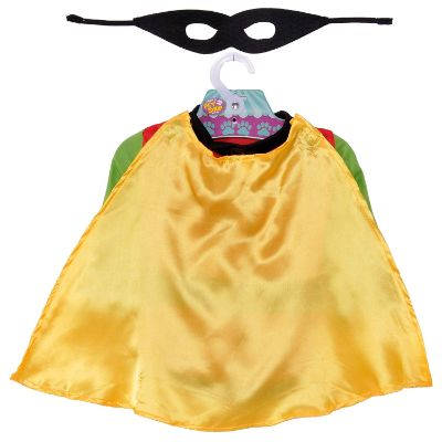 DC comics robin halloween dog costume cape