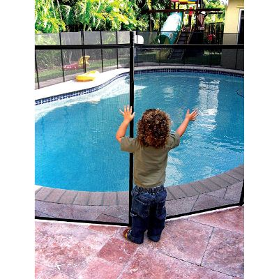 XtremepowerUS 4' X 12' Best Pool Fences safety