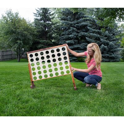 giant connect four outdoor game size