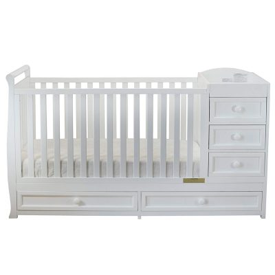 Athena Daphne convertible crib with changing table front