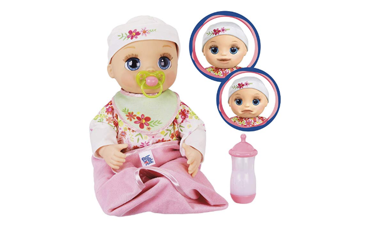 Baby Alive Real As Can Be Baby realistic facial expressions