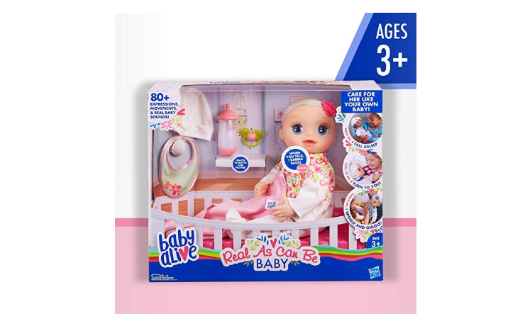 Baby Alive Real As Can Be Baby Review Doll With 80 Expressions And Sounds